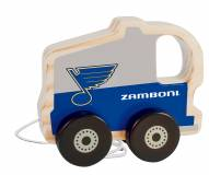 St. Louis Blues Wood Baby Push & Pull Toy