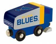 St. Louis Blues Wood Zamboni Toy Train