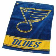 St. Louis Blues Woven Golf Towel