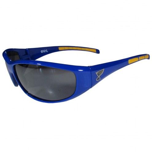 St. Louis Blues Wrap Sunglasses