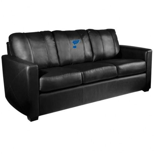 St. Louis Blues XZipit Silver Sofa
