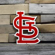 "St. Louis Cardinals 12"" Steel Logo Sign"