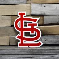 "St. Louis Cardinals 12"" Steel Logo Sign"