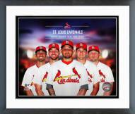 St. Louis Cardinals Team Composite Framed Photo
