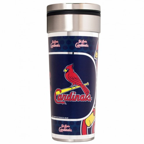 St. Louis Cardinals 22 oz. Hi Def Travel Tumbler