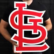 "St. Louis Cardinals 24"" Steel Logo Sign"