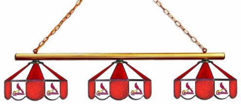 St. Louis Cardinals 3 Shade Pool Table Light