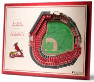 St. Louis Cardinals 5-Layer StadiumViews 3D Wall Art