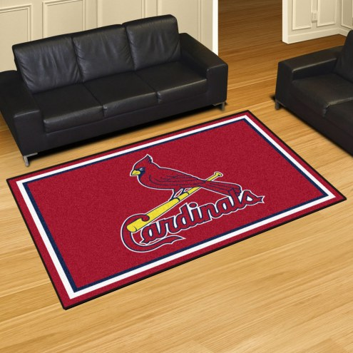 St. Louis Cardinals 5' x 8' Area Rug