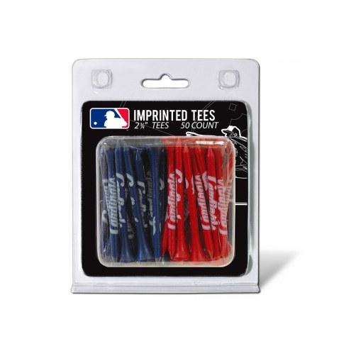 St. Louis Cardinals 50 Golf Tee Pack