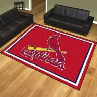 St. Louis Cardinals 8' x 10' Area Rug