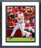 St. Louis Cardinals A.J. Pierzynski Action Framed Photo