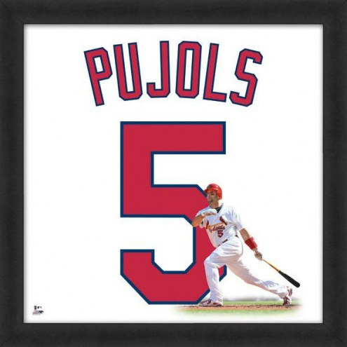 St. Louis Cardinals Albert Pujols Uniframe Framed Jersey Photo