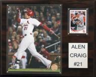 """St. Louis Cardinals Allen Craig 12"""" x 15"""" Player Plaque"""