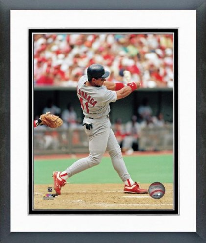St. Louis Cardinals Andres Galarraga Action Framed Photo