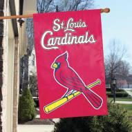 St. Louis Cardinals Applique 2-Sided Banner Flag