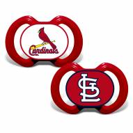 St. Louis Cardinals Baby Pacifier 2-Pack