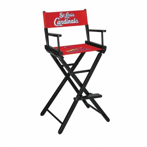 St. Louis Cardinals Bar Height Director's Chair