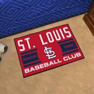 St. Louis Cardinals Baseball Club Starter Rug