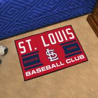 St. Louis Cardinals Baseball Club Starter Rug