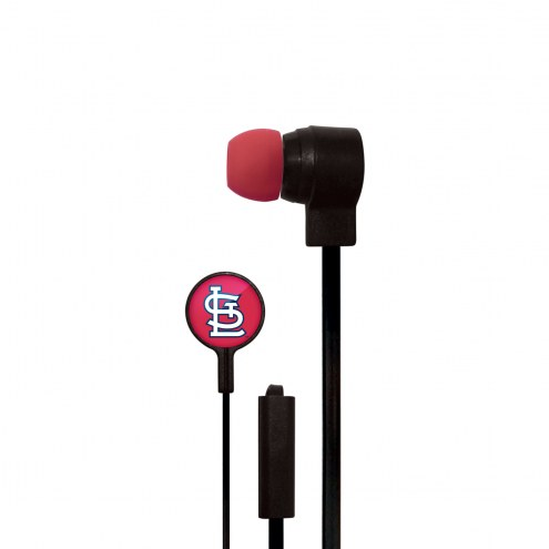St. Louis Cardinals Big Logo Ear Buds