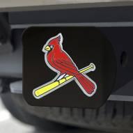 St. Louis Cardinals Black Color Hitch Cover