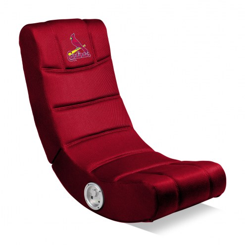 St. Louis Cardinals Bluetooth Gaming Chair