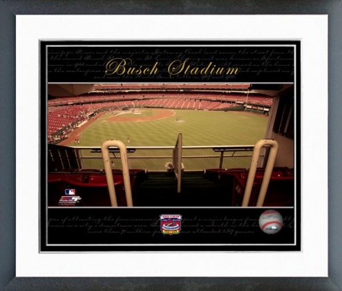 St. Louis Cardinals Busch Stadium Collectors Series #11 Framed Photo