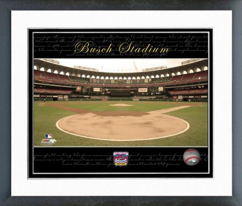 St. Louis Cardinals Busch Stadium Collectors Series #18 Framed Photo