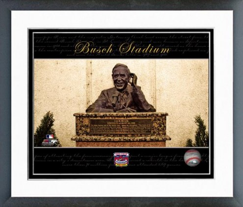 St. Louis Cardinals Busch Stadium Collectors Series #3 Framed Photo