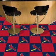 St. Louis Cardinals Carpet Tiles