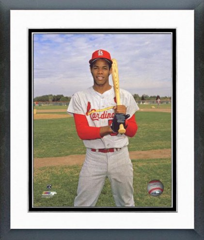 St. Louis Cardinals Cecil Cooper Posed Framed Photo