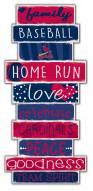 St. Louis Cardinals Celebrations Stack Sign