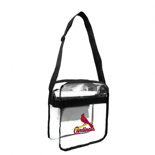 St. Louis Cardinals Clear Crossbody Carry-All Bag