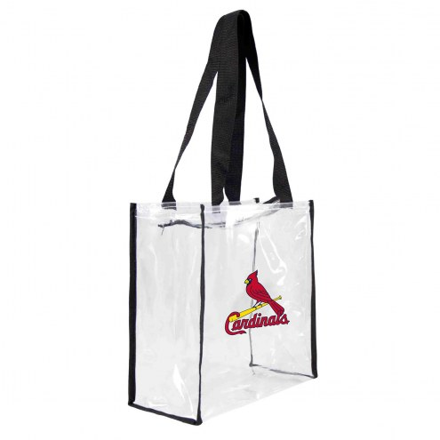 St. Louis Cardinals Clear Square Stadium Tote