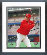 St. Louis Cardinals Clint Hurdle Posed Framed Photo
