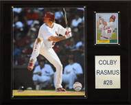 """St. Louis Cardinals Colby Rasmus 12"""" x 15"""" Player Plaque"""