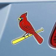 St. Louis Cardinals Color Car Emblem