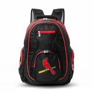 MLB St Louis Cardinals Colored Trim Premium Laptop Backpack