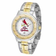 St. Louis Cardinals Competitor Two-Tone Men's Watch