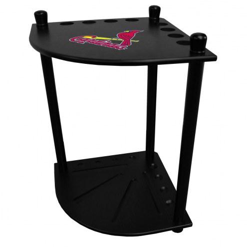 St. Louis Cardinals Corner Pool Cue Rack
