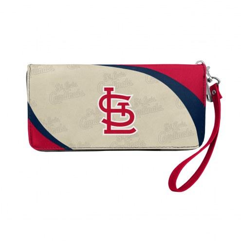 St. Louis Cardinals Curve Zip Organizer Wallet