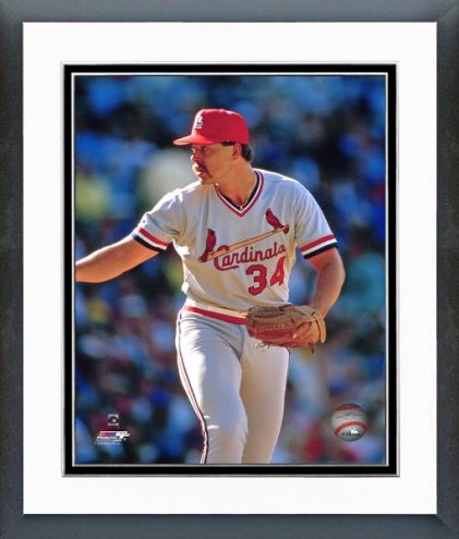 St. Louis Cardinals Danny Cox Action Framed Photo