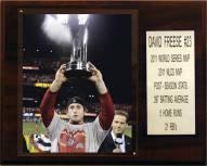 "St. Louis Cardinals David Freese 2011 World Series MVP 12"" x 15"" Player Plaque"