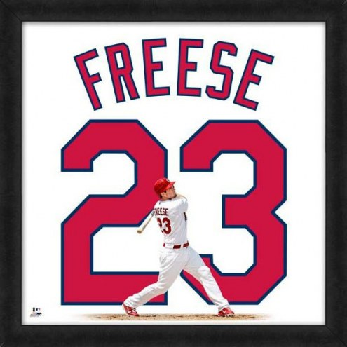 St. Louis Cardinals David Freese Uniframe Framed Jersey Photo