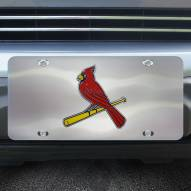 St. Louis Cardinals Diecast License Plate