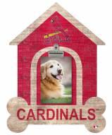 St. Louis Cardinals Dog Bone House Clip Frame