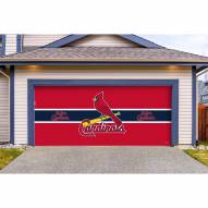 St. Louis Cardinals Double Garage Door Cover