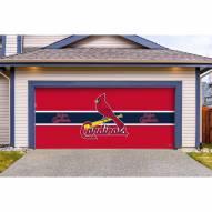 St. Louis Cardinals Double Garage Door Cover