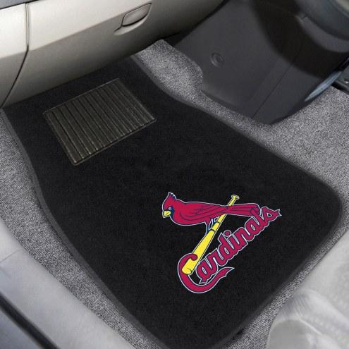 St. Louis Cardinals Embroidered Car Mats